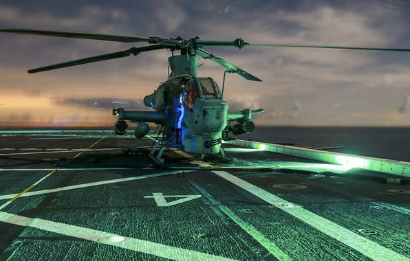 """Picture helicopter, Viper, shock, Bell AH-1Z, """"Viper"""""""