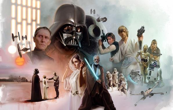 Picture cinema, Star Wars, Dark Side, movie, film, jedi, light saber, Sith lord, jedi knight, black …