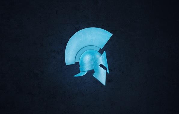 Picture background, helmet, helmet, Sparta