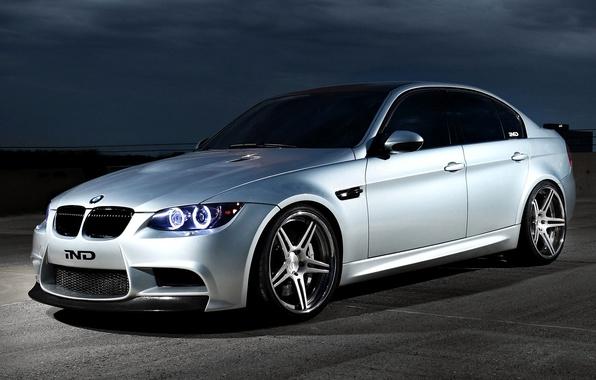 Picture Machine, Tuning, Desktop, Sedan, Car, Ghost, 2012, Car, Silver, Wallpapers, Tuning, Beautiful, e90, Sedan, Bmw …