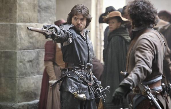 Photo wallpaper gun, The series, Athos, The Musketeers, The Musketeers, Tom Burke