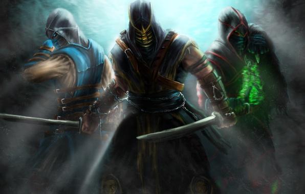 Picture Scorpion, Assassins, Sub-Zero, Kombat, Mortal, Ermac