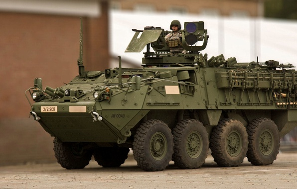 Picture Stryker, General Dynamics Land Systems, armored combat vehicle, stryker