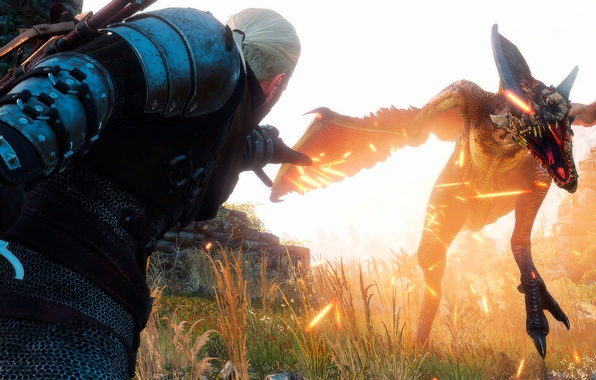 Picture The Witcher, The Witcher 3:Wild Hunt, Sign Igny