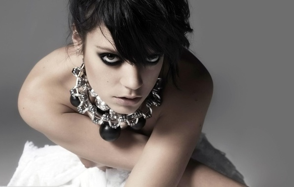 Wallpaper philanthropist, Lily Allen, English singer