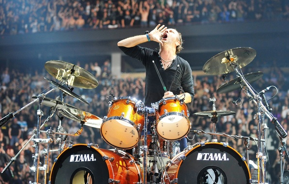 Photo Wallpaper Drums Tama Fans Call Concert Stadium