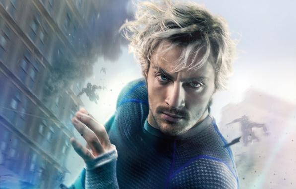 Picture fiction, superhero, comic, Aaron Taylor-Johnson, Aaron Taylor-Johnson, Quicksilver, Pietro Maximoff, Avengers: Age of Ultron, The …
