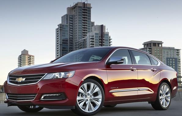 Picture Chevrolet, emblem, sedan, IMPALA