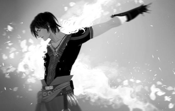 Picture guy, Final Fantasy, art, Lightning Returns: Final Fantasy XIII, Noel Kreiss