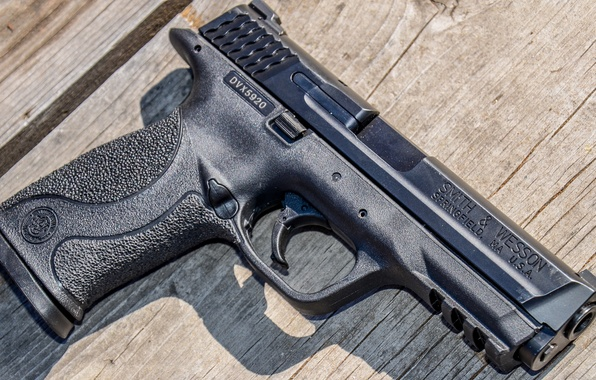Picture gun, weapons, background, Smith & Wesson, Springfield, M&P