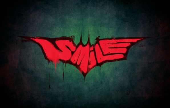 Picture style, batman, Batman, Joker, smile, joker