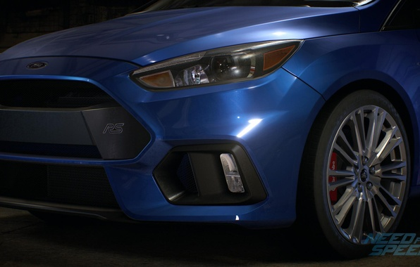 Picture Ford, blue, Fiesta, Need For Speed 2015