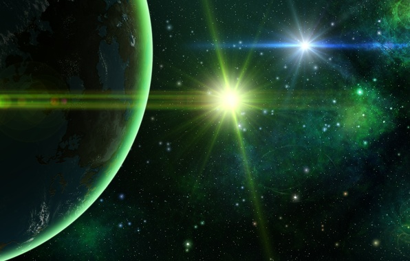 Picture space, planet, stars, space, planet