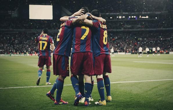 Picture football, football, manchester united, champions league, iniesta, Barcelona, alves, pedro, david villa