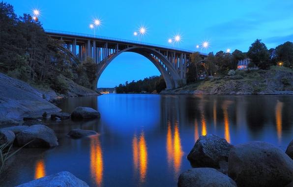 Picture Sweden, Bridge, Nacka, Skurubron