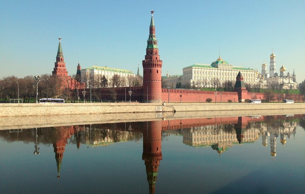Picture Moscow, the Kremlin, Russia, capital