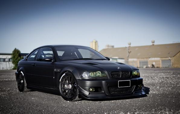 Picture black, BMW, BMW, black, E46