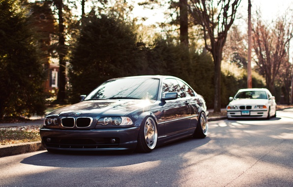 Picture two, BMW, coupe, BMW, E46, stance works