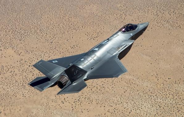 Picture flight, earth, fighter, pilot, bomber, Lightning II, Lockheed Martin, F-35A