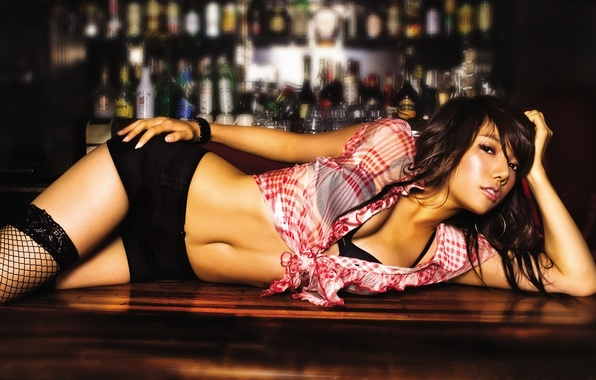 Picture table, bar, Asian