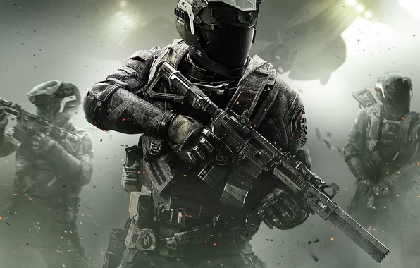 Picture Lights, Smoke, Light, Helmet, Soldiers, Call of Duty, CoD, Military, Activision, Equipment, Infinity Ward, High …