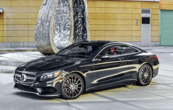 Picture black, Mercedes-Benz, Mercedes, AMG, Black, AMG, 2014, S 550, S-Class, C217