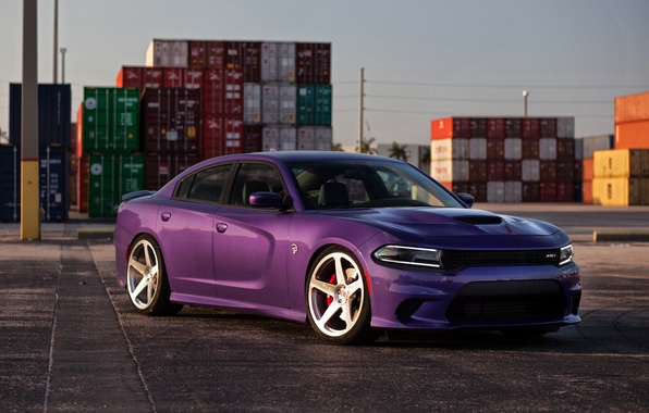 Photo Wallpaper Srt Dodge Charger Hellcat 2015