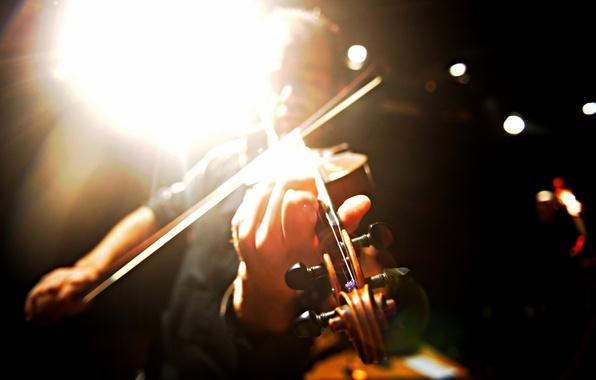 Picture music, violin, Andrea Costa