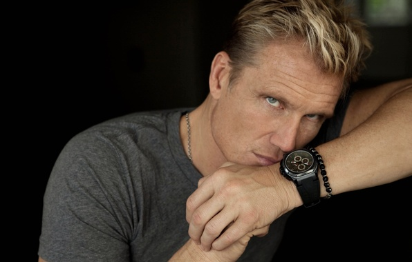 Picture look, the film, watch, hands, actor, male, bracelet, the expendables, beautiful, blonde, Dolph Lundgren, Dolph …
