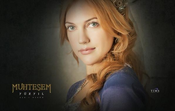 Picture portrait, Magnificent century, magnificent century, Sultan, Hurrem Sultan, Meriem Userli, Meriem Userli, Hürrem