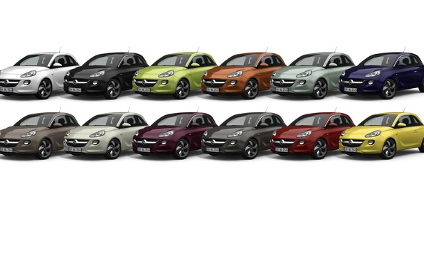 Picture a number, vauxhall, opel, adam