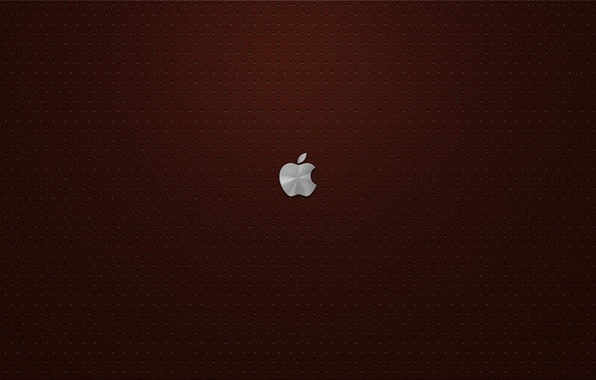 Picture Apple, leather, Burgundy