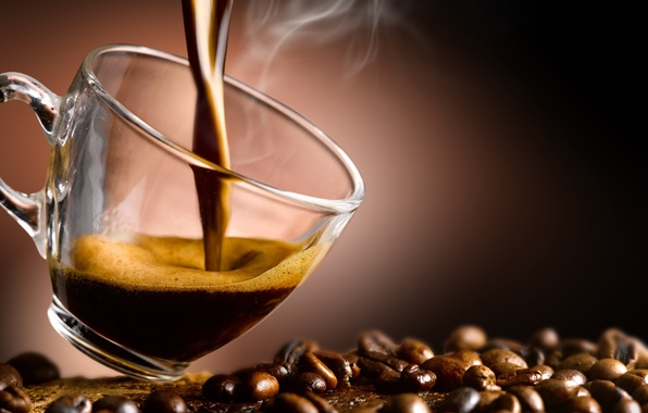 Picture coffee, Cup, coffee beans, aroma, coffee, Cup, coffee beans, aroma