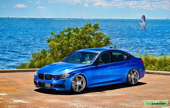 Picture the ocean, tuning, BMW, sedan, bmw 3 series