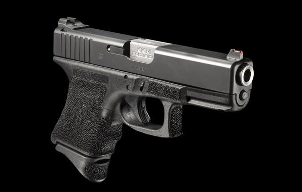 Picture gun, weapons, trunk, Glock, self-loading