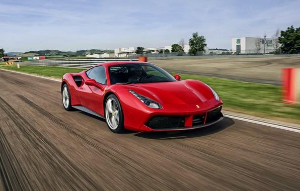 Picture Ferrari, Ferrari, GTB, 2015, 488