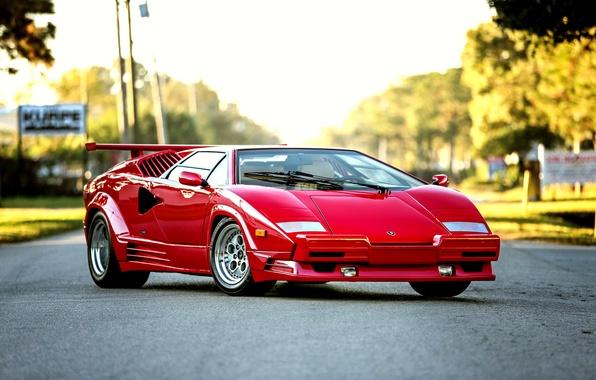 Picture Lamborghini, Lamborghini, Countach, 1990, US-spec, Countach, Bertone, 25th Anniversary