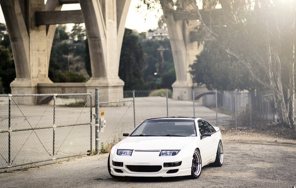Picture the city, Nissan, low, 300zx, fairlady