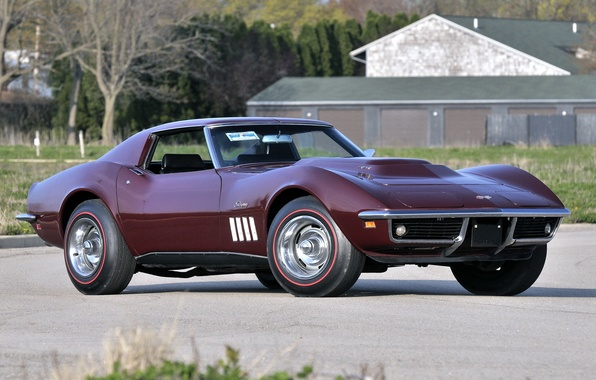 Picture 1969, corvette, Chevrolet, chevrolet, Corvette, chevy, stingrey, Chevy, stingray, L88 427 Coupe