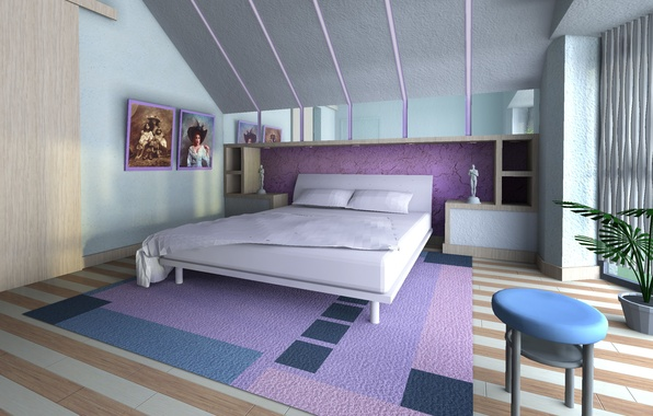 Picture design, house, style, interior, bedroom, living room
