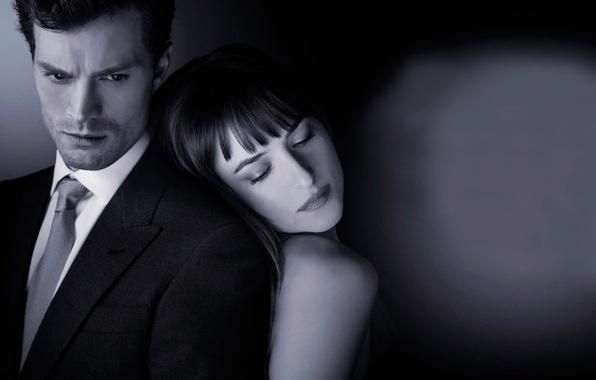 Picture Dakota Johnson, Jamie Dornan, Fifty shades of grey, Fifty Shades of Grey, in the film