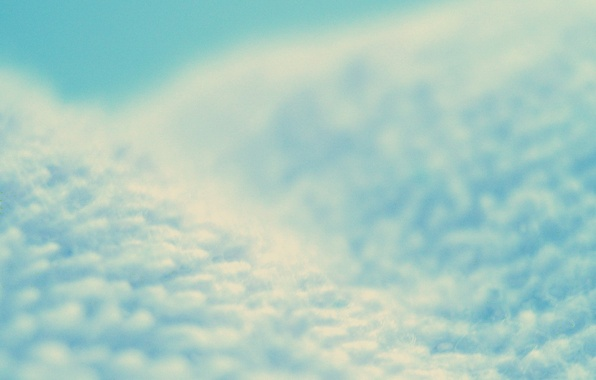 Picture blue, minimalism, Matter