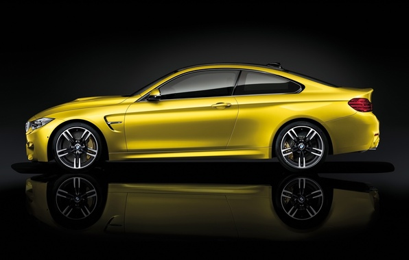 Picture yellow, Coupe, BMW M4, BMW AG