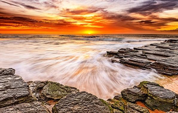sunrise beach sand wallpaper - photo #7
