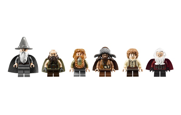 Picture toys, LEGO, dwarves, Lego, Gandalf, The hobbit, The Hobbit, An unexpected journey, Gandalf, Dwalin, Balin, …