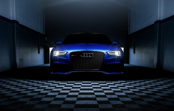 Picture Audi, Cars, Blue, RS5, Sport, Luxury, Ligth, Motor