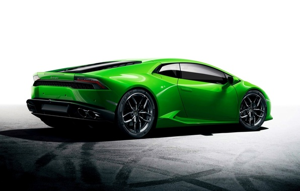 Picture Green, Car, Car, Green, Wallpaper, Lamborghini, Huracan, LP610-4, Lamborghini Huracan, Sport car