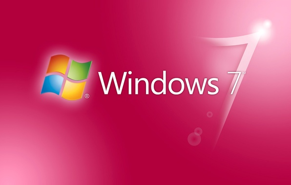 Picture computer, Wallpaper, logo, windows 7, emblem, operating system