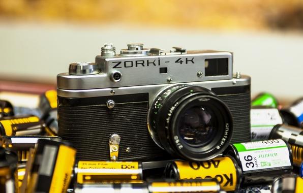 Picture camera, the camera, lens, ZORKI-4K