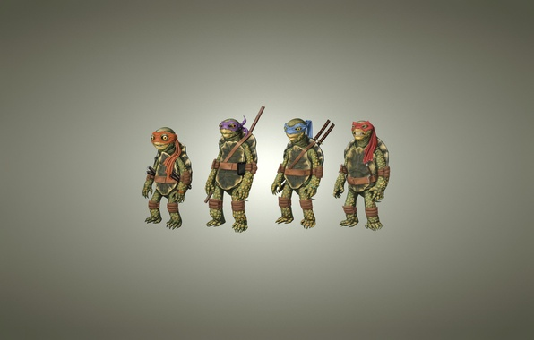 Picture light background, Rafael, TMNT, Raphael, Leonardo, Donatello, Donatello, Leonardo, Michelangelo, Teenage Mutant Ninja Turtles, Michelangelo, …